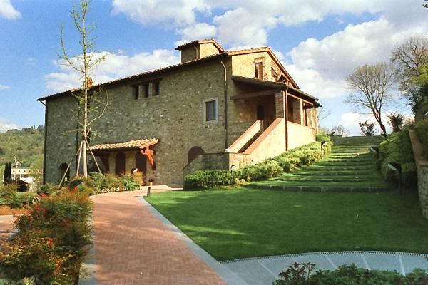 Villa nelle colline di Santa Maria delle Grazie