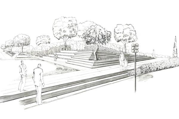 Nuova piazza di Catanzaro Centro